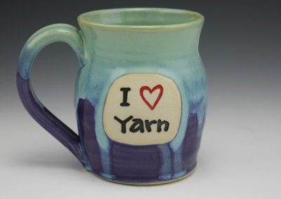 I heart yarn mug 3