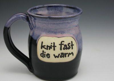 knit fast mug