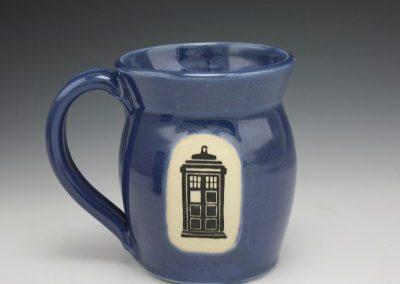 phone box mug