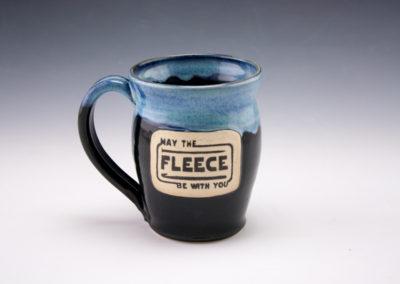May the fleece be with you mug.
