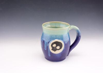 dodger skull sweet pea mug
