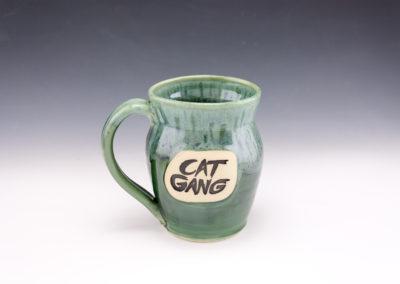 dodger cat gang misty mug