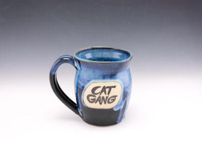 dodger cat gang starry mug