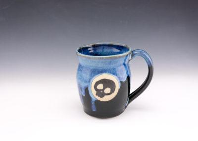 dodger skull starry mug