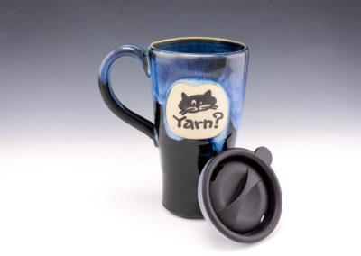 cat yarn? travel mug