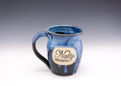 nasty woman starry mug