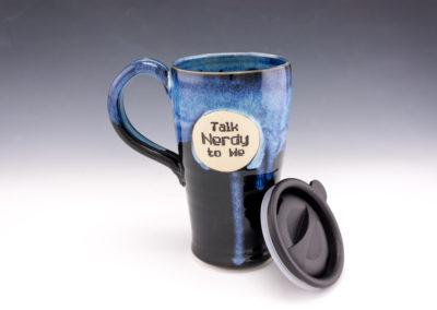 Talk Nerdy to Me travel mug