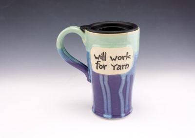 Will work for yarn travel mug 2