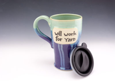 Will work for yarn travel mug