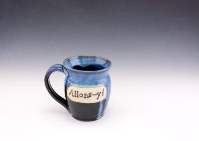 Allons-y! mug