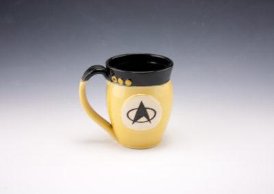 Yellow officer Mug