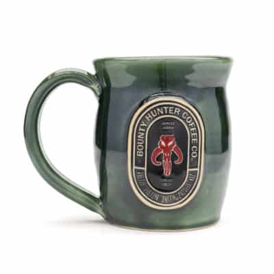 Star wars Bounty Coffee Emerald Green 20 oz. mug