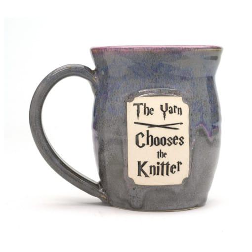 Harry Potter The yarn chooses the knitter Unicorn Farts 20 oz. Mug