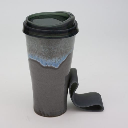 Stormy Skies travel tumbler