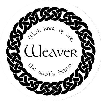 Logo Medallion - weaver A discovery of Witches