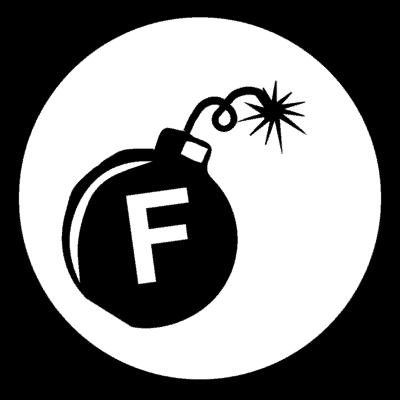 Logo Medallion - F - Bomb