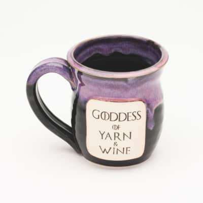Goddess of Yarn and Wine