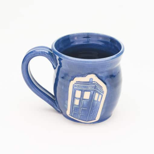 Doctor Who Police Box Denim Blue 20 oz. mug