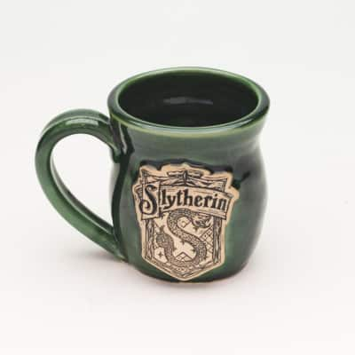 Slytherin House inspired Emerald Green 10 oz mug