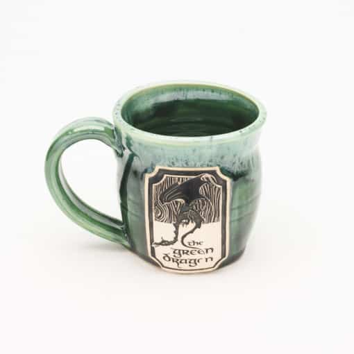 Green Dragon Inn LotR inspired Misty Forrest 10 oz. Mug