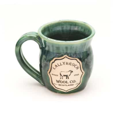 Lallybroch wool co misty forest 20 oz. mug
