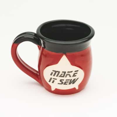 Make it sew Next gen inspired 10 oz. Mug