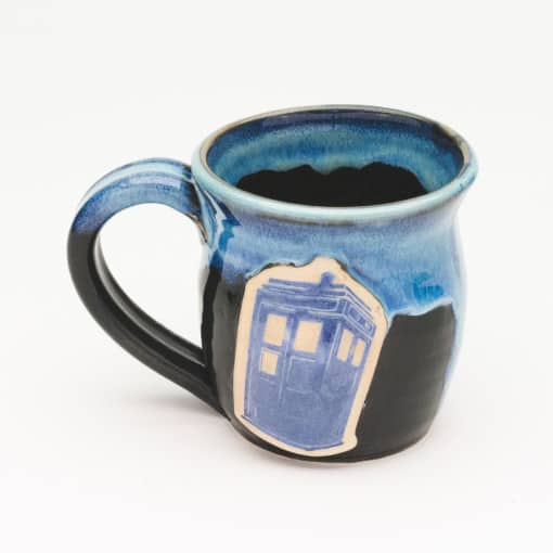 Doctor Who Police Box Starry Night 10 oz. Mug