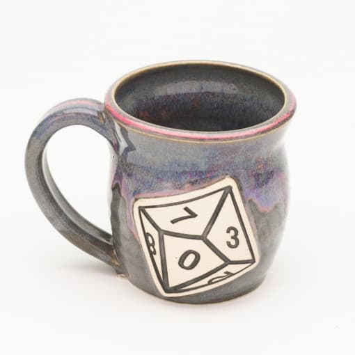 D10 Ten Sided Dice Unicorn Farts 10 oz. mug