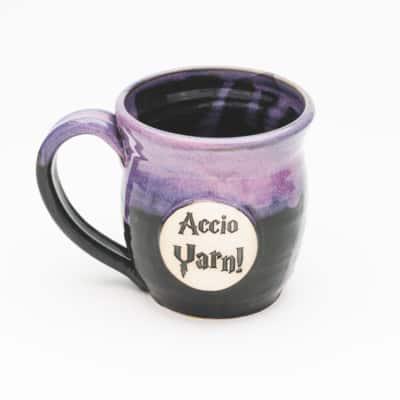 Accio Yarn potter inspired Arizona Sunrise 20 oz mug