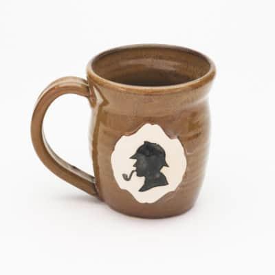 Sherlock Sillhouette Greek Iron 20 oz. mug