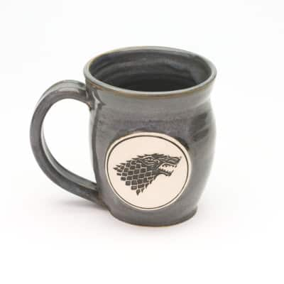 Dire Wolf Storm Grey 20 oz. mug