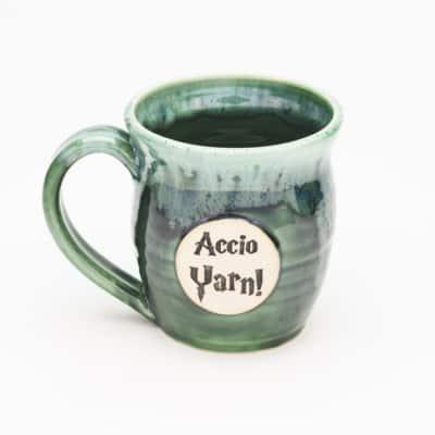 Accio Yarn potter inspired Misty Forrest 20 oz. Mug