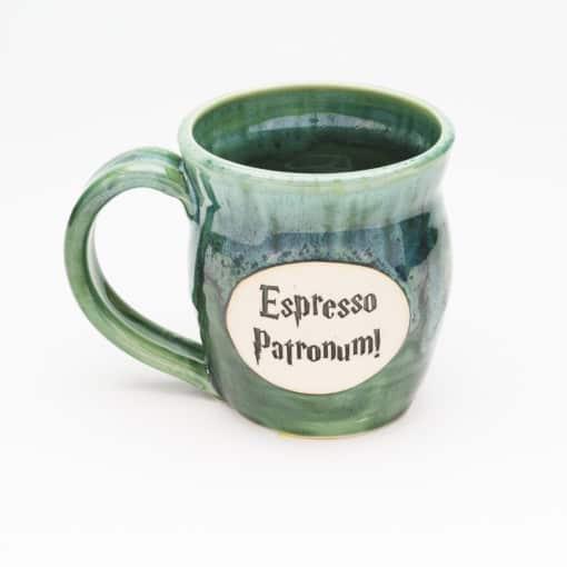 Espresso Patronum Potter Inspired Misty Forrest 20 oz. Mug