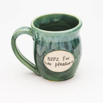 K2P2 for her pleasure Misty Forrest 20 oz. Mug