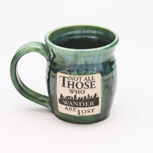 Not all those who wander are lost Misty Forrest 20 oz. mug