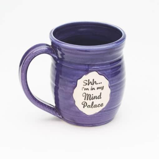 Sherlock shhh... I'm in my mind palace Purple 20 oz. Mug