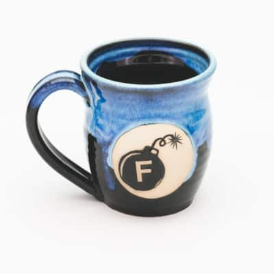 F Bomb Starry Night 20 oz. Mug