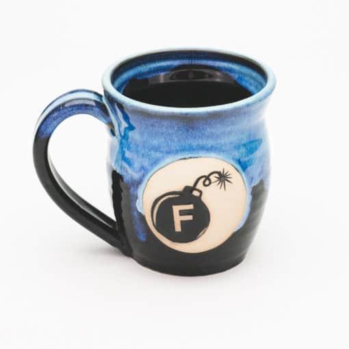 F Bomb Starry Night 20 oz. Mug