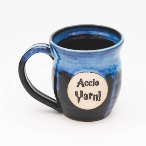 Accio Yarn potter inspired Starry Night 20 oz. Mug