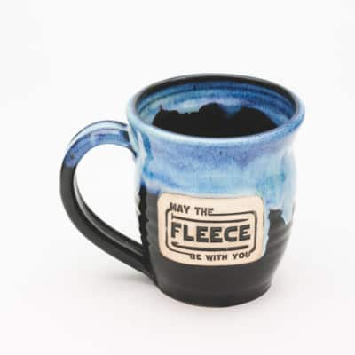 May the fleece be with you Starry Night 20 oz. Mug