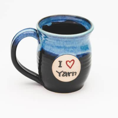 I Heart Yarn Starry Night 20 oz. Mug