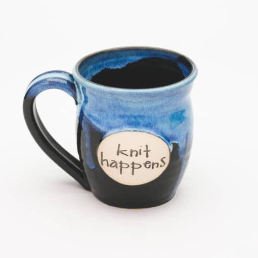 Knit happens Starry Night 20 oz. Mug