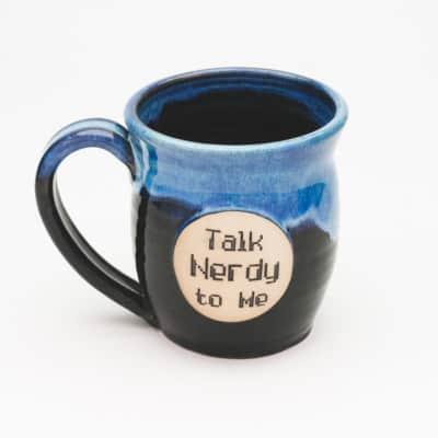 Talk Nerdy to me Starry Night 20 oz. mug