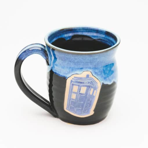 Police Box Starry Night 20 oz. Mug
