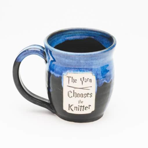 Yarn Chooses the knitter Starry Night 20 oz. Mug