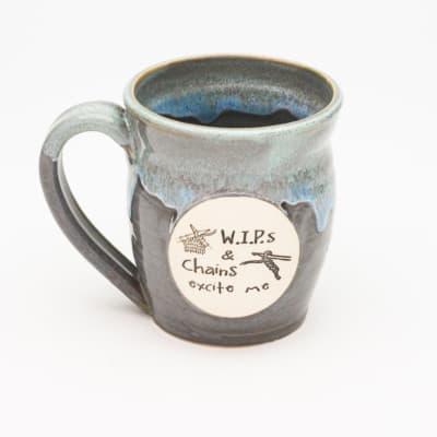 WIPS & Chains Excite me Stormy Skies 20 oz. mug