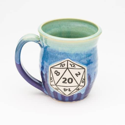 D20 gaming 20 oz mug