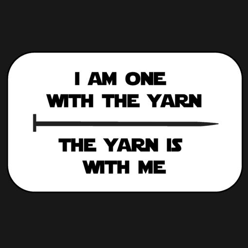 Logo Medallion - I am one with the yarn mashup