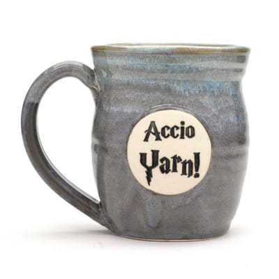 Harry Potter Accio Yarn! Stormy Skies 20 oz. Mug