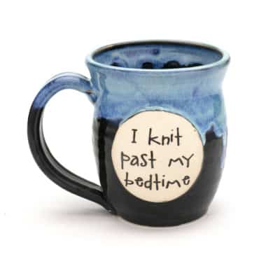 Knit - I knit past my bedtime - starry night 20 oz. mug